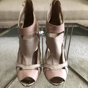 Vince Camuto Blush/Nude Heels- size 10